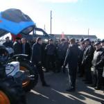 Аграриям Чувашии представлены колесные тракторы АГРОМАШ