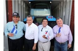 Первая партия тракторов АГРОМАШ прибыла в никарагуанский порт Коринто