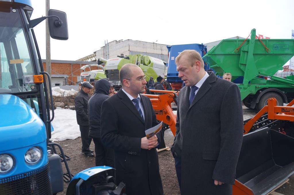 Колесная техника АГРОМАШ была представлена на выставке в Республике Мордовия
