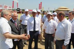 Экспозиция АГРОМАШ начала работу на XV Международной агропромышленной выставке «Золотая Нива»