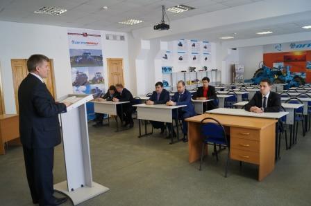 Открытие учебного класса в Башкирском ГАУ в апреле 2015 г.