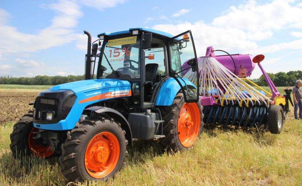 Оборудование мелиоративного профиля будет адаптировано на тракторе АГРОМАШ 85ТК