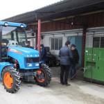 АГРОМАШ 50ТК МЕТАН на газозаправке румынского предприятия.