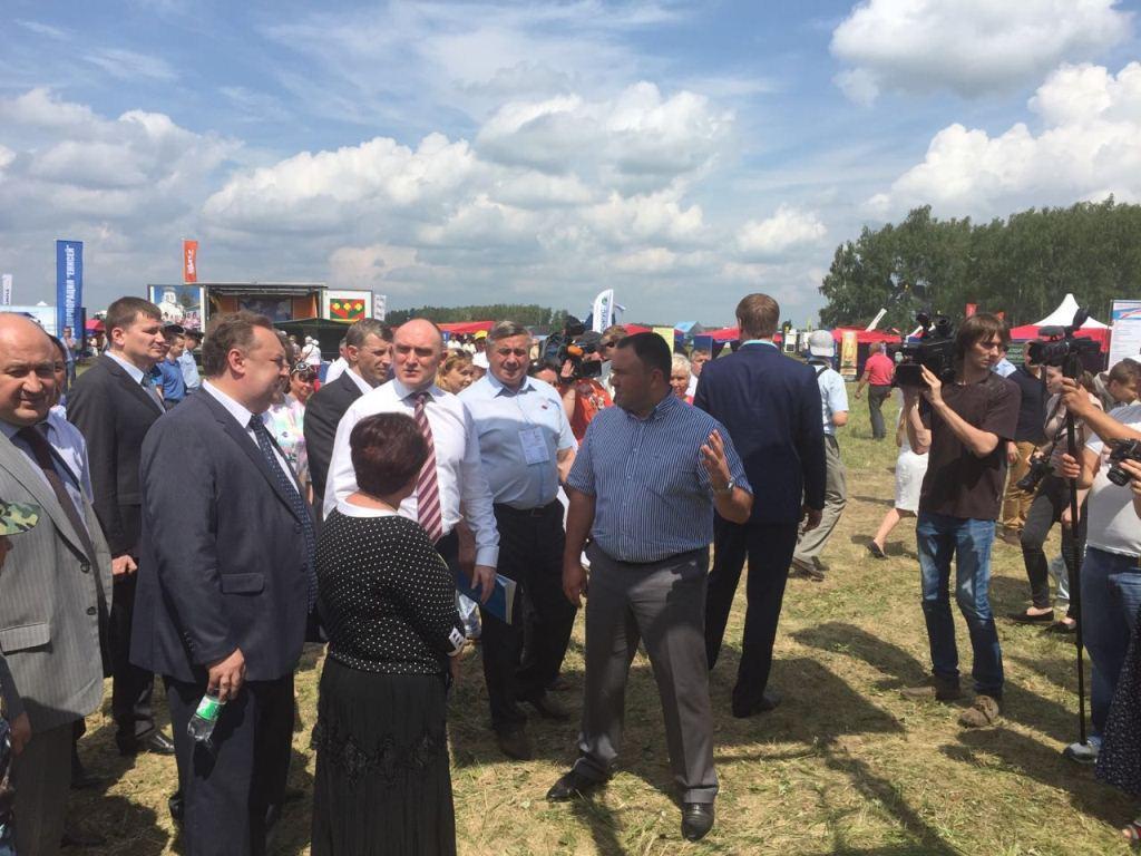 «День Уральского поля - 2016»: качественная и доступная техника АГРОМАШ для южноуральских аграриев
