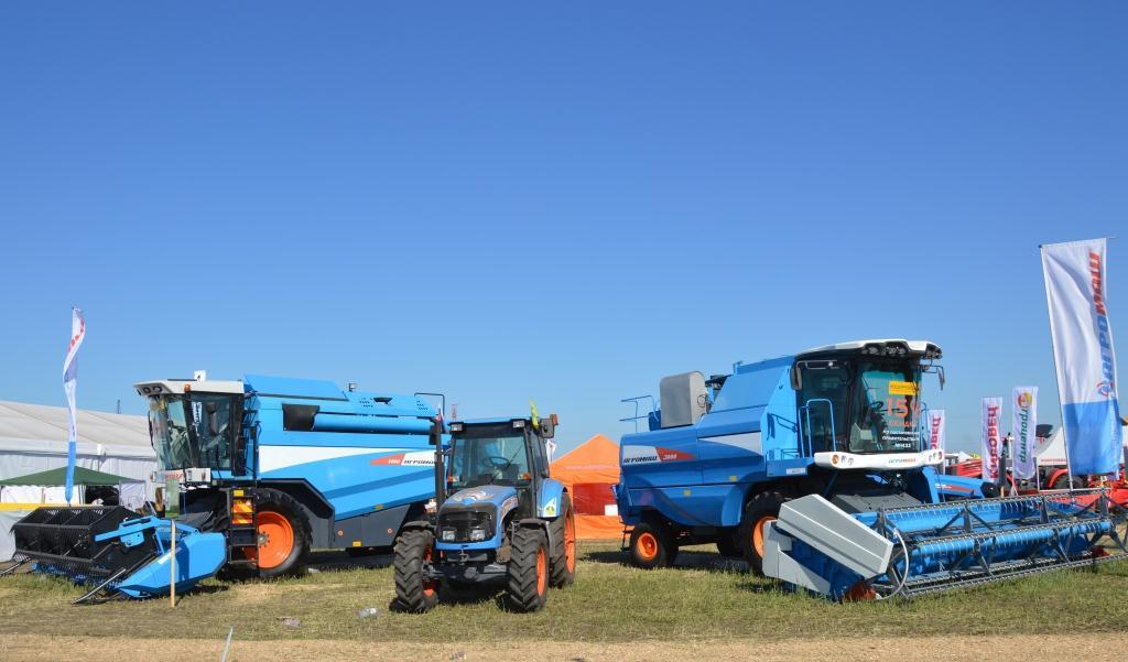 Свыше десятка моделей сельскохозяйственной техники АГРОМАШ будут представлены в рамках «Всероссийского дня поля» в Алтайском крае