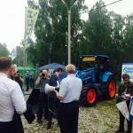 В Омске презентовали трактор, работающий на природном газе