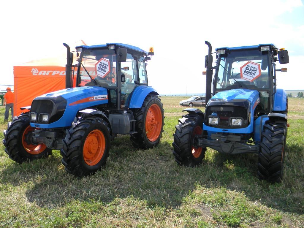 Умные машины АГРОМАШ для отечественных аграриев