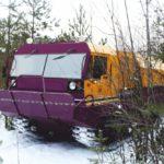 Транспортная гусеничная машина ОТЗ-140
