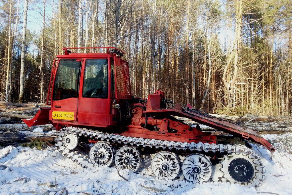 Онежец-320-машина трелевочная чокерная