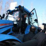 «Тракторные заводы» представили главе Минпромторга России инновационные машины