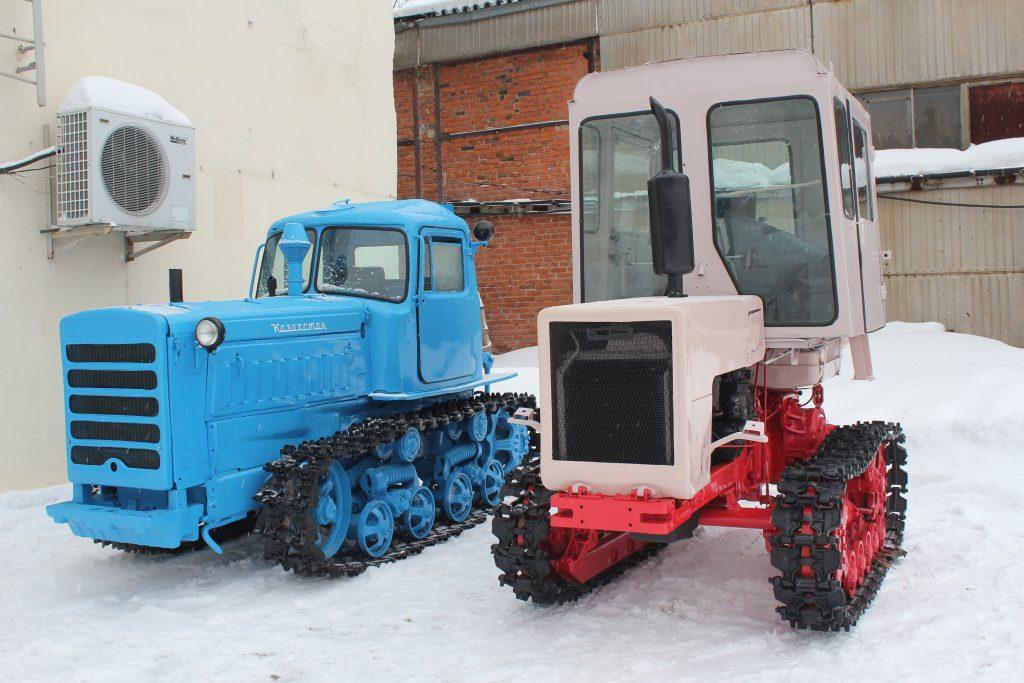Раритетная техника пополнила экспозицию Музея истории трактора в Чебоксарах