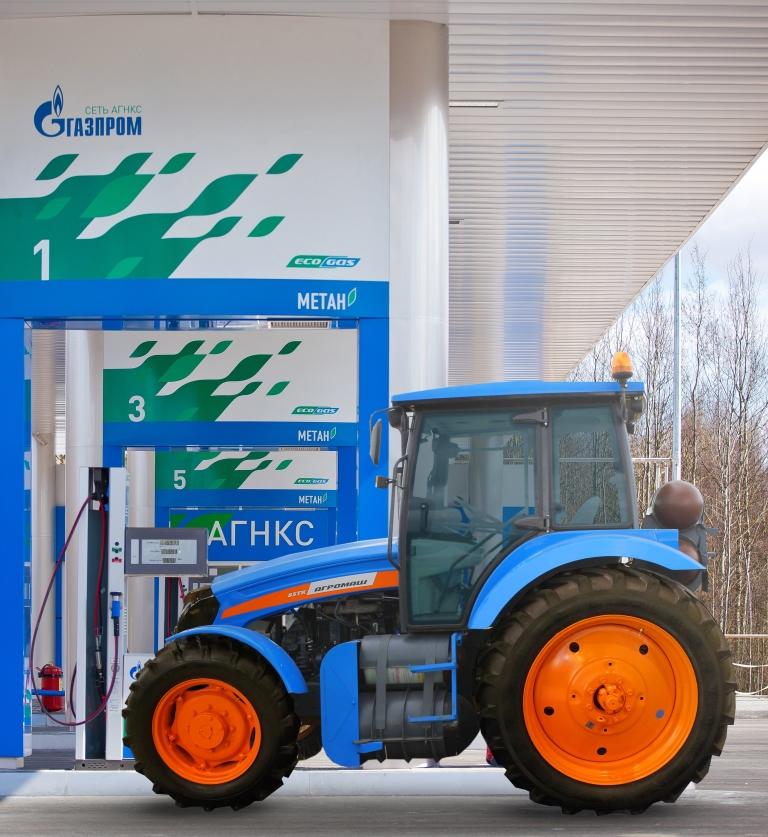 Коммунальщики Оренбурга намерены пересесть на газомоторные тракторы АГРОМАШ