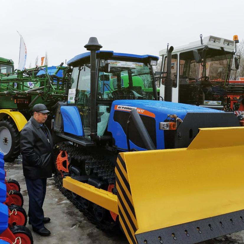 Добрая традиция: сельхозмашины АГРОМАШ на выставке «АгроКомплекс» в Башкирии