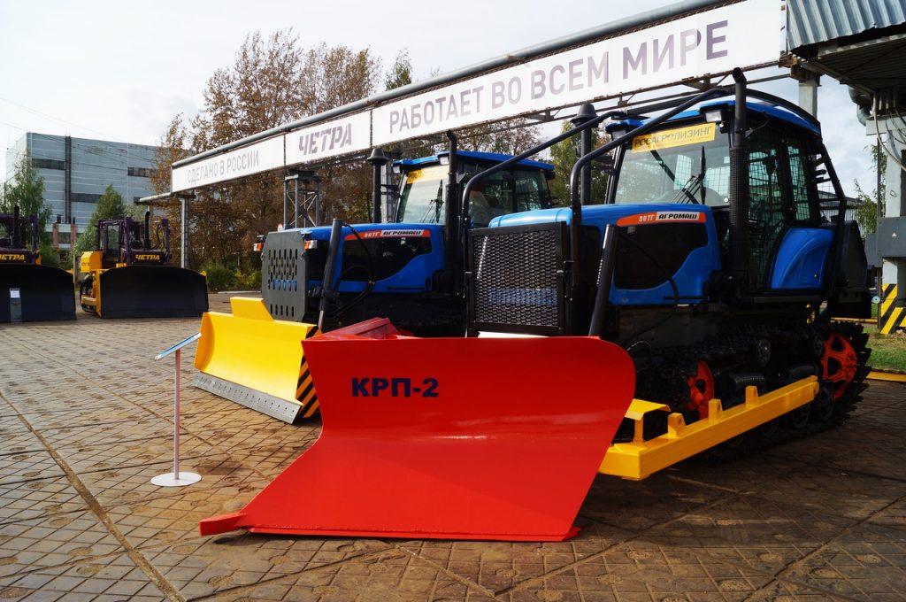 «Тракторные заводы» готовы помочь лесхозам России в борьбе с пожарами
